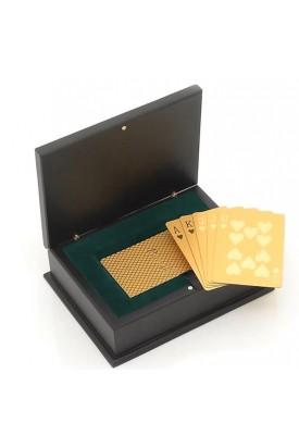 Vergoldete Pokerkarten
