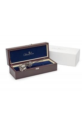 20th wedding anniversary gift. platinum dipped rose