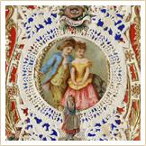 Valentinstagskarten in der viktorianischen Periode